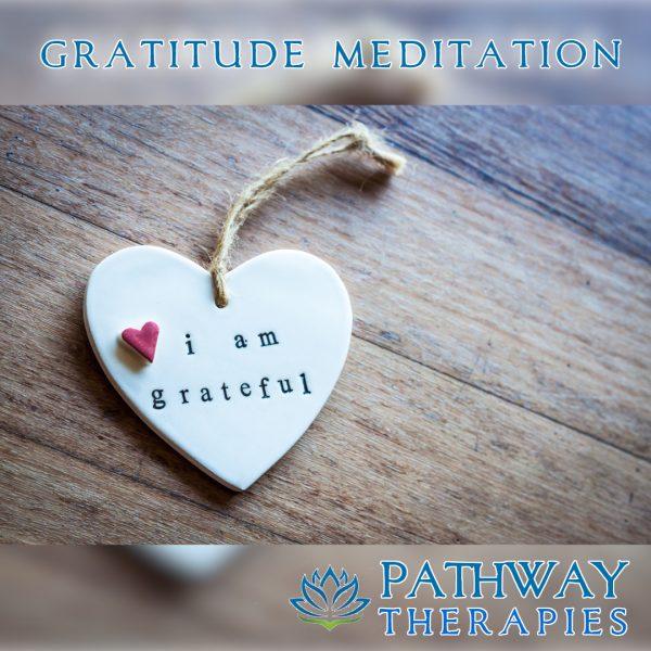 Gratitude Meditation – Cover